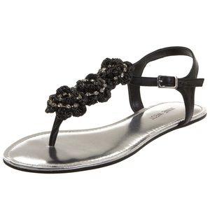 Nine West Wowza Rhinestone Embellished Sandal